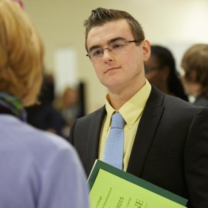 Le Moyne College Business Students in the Classroom